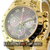 Rolex Daytona 18k Yellow Gold Tahitian Mother Of Pearl  Ref....