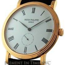 Patek Philippe Calatrava 18k Rose Gold White Dial 36mm Ref. 5119R