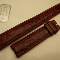 Universal Genève genuine crocodile strap 18/16mm, brown, New