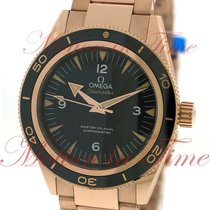 Omega Seamaster 300m Master Co-Axial 41mm, Black Dial - Rose...