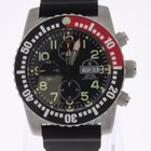 Zeno-Watch Basel Airplane Diver Chronograph Numbers Automatic NEW
