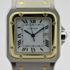 Cartier SANTOS STAINLESS STEEL & GOLD