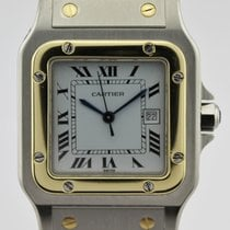 Cartier SANTOS STAINLESS STEEL & GOLD