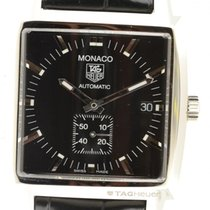 Tag Huer Monaco Automatic Steel Ww2110.fc6177  With Papers