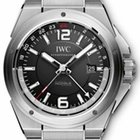 IWC Ingenieur Dual Time Automatic in Steel