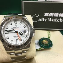 Rolex Cally - 216570 EXPLORER II White Dial 40mm 大白橙[NEW]