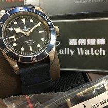 Tudor Cally - 79220B Heritage Black Steel STRAP 皮帶款 2015 新款[NEW]