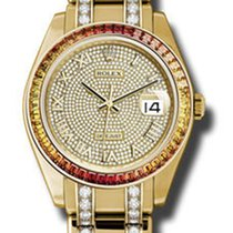 Rolex Datejust Pearlmaster 39 Yellow Gold - Diamond Bracelet...