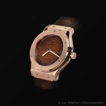 Hublot Rose Gold Fusion Berluti Limited Edition of 250