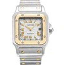 Cartier 2319 18K Yellow Gold/Steel Santos Galbee Automatic