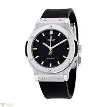 Hublot Classic Fusion Automatic Titanium Rubber Men's Watch