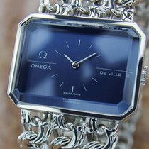 Omega Deville 925 All Sterling Silver Mens Manual 1960s Swiss...