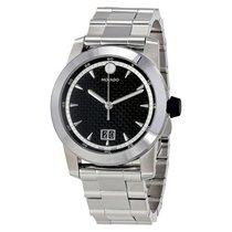 Movado Vizio Black Carbon Fiber Dial Men's Watch