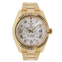 Rolex SKY-DWELLER 42mm 18K Yellow Gold Watch 2014
