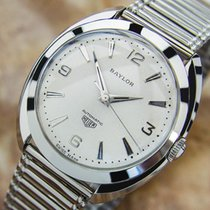Heuer Swiss Made Baylor As 1580 Vintage Automatic 1950 Rare...