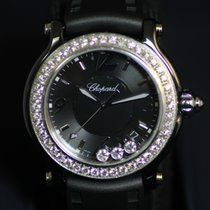 Chopard Happy Sport Ladies Diamond Bezel LE
