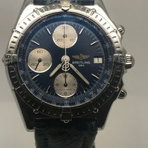 Breitling CHRONOMAT 40MM BLUE DIAL PERFECT CONDITION