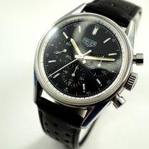 TAG Heuer Carrera CS 3111 steel chrono 1964 re-edition w/box...