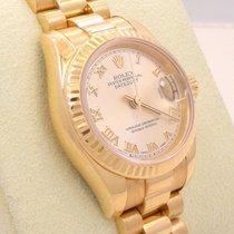 Rolex New Style Ladies President 18k Yellow Gold 179178