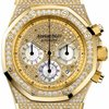Audemars Piguet Royal Oak Chronograph Diamond Pave 18 k...