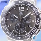 TAG Heuer Formula 1 Chronograph 42mm Anthracite Sunray Mens Watch