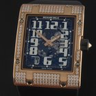 Richard Mille Rose Gold Pave Diamond Extra-Flat RM016
