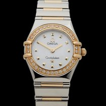 Omega Constellation Diamonds Stainless Steel/18k Yellow Gold...