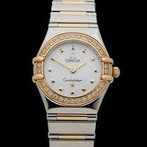 Omega Constellation Diamonds Stainless Steel/18k Yellow Gold...