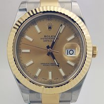 Rolex Datejust II 41mm /Gold and Steel /18K Yellow Gold Bezel NEW