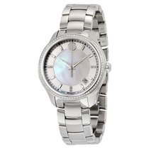 Movado Bellina White Mother Of Pearl Dial Ladies Stainless...