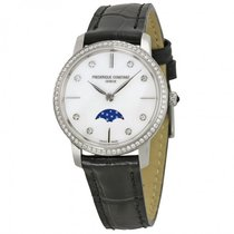 Frederique Constant Ladies Slimline Mother of Pearl Watch