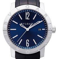 Bulgari Solotempo Blue Dial Automatic Men's Watch