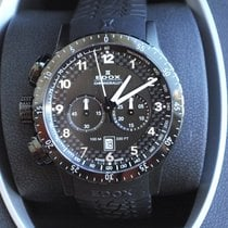 Edox Chronorally 1 Chronograph NEW FULL SET