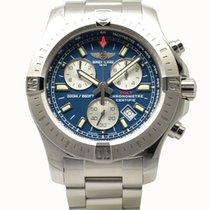 Breitling Colt Chronograph 44 Quartz Watch 44mm Blue Dial...