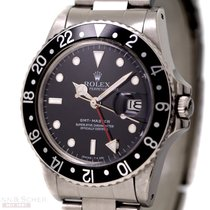 Rolex Vintage GMT Master Quick Set Ref-16750 Stainless Steel...