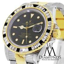 Rolex Submariner Mens Automatic Watch 116613bkdo With Custom...