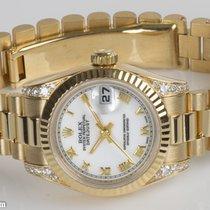 Rolex 179238 white dial on President bracelet