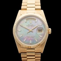 Rolex Day-Date 18k Yellow Gold Unisex 18238