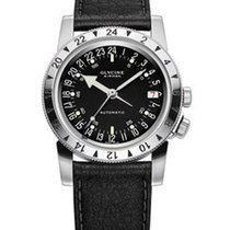 Glycine Airman No. 1 Automatic - 24 Hour Dial - Black Dial -...
