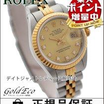 Rolex 【ロレックス】 デイトジャスト レディース腕時計【中古】 10Pダイヤ シルバー/イエローゴールド...