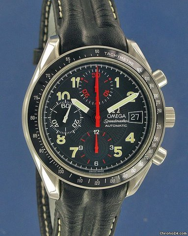 Omega Speedmaster Date Automatic--SOLD--