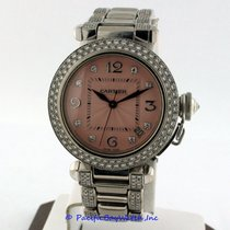 Cartier Pasha C 18k White Gold Pre-owned