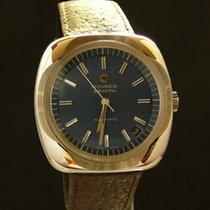 Zenith Movado Cal 2572 PC Oversized, blue dial, vintage, NOS
