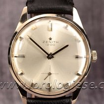 Zenith Classic 18 Kt. Gold Vintage Watch Cal. 40-t Top...