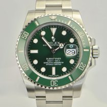 Rolex Submariner/Steel/Green ceramic green Dial116610LV