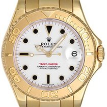 Rolex Yacht-Master Midsize Men's/Ladies 18k Gold Watch 168628
