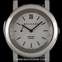 Bulgari Platinum Silver Baton Dial Repetition Minutes Gents...