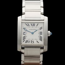 Cartier Tank Francaise Stainless Steel Ladies 2301 or WSTA0005