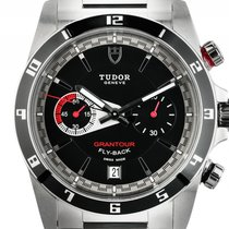 Tudor Grantour Chrono Fly Back Stahl Automatik Armband Stahl 42mm