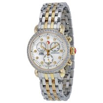 Michele CSX 36 Mother of Pearl Diamond Dial Two-tone Ladies Watch